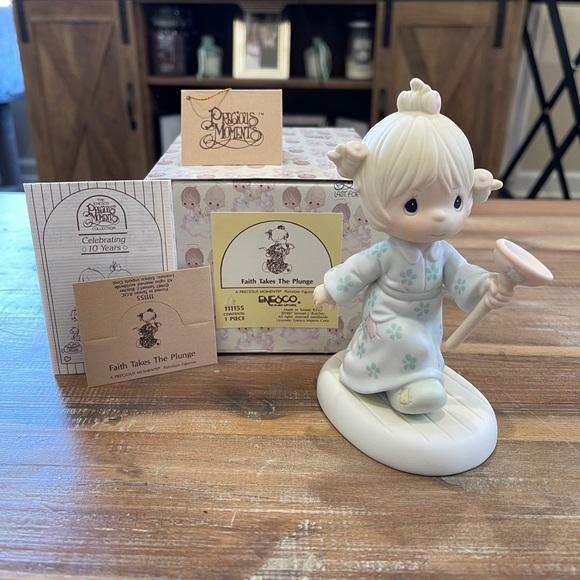 """Faith Takes The Plunge""- Figurine"